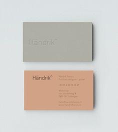 Händrik by Mark Niemeijer, via Behance