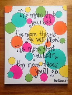 Classroom Canvas Quote by ArtsyAppleDesigns on Etsy, $20.00