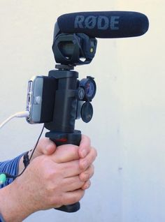 My iPhone 6S documentary filmmaking kit lets me handhold steadily and add wide/tele lenses and proper microphones #iphone #filmmaking #mojo #audio #microphone