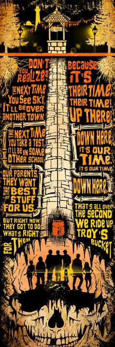 """""""Troys Bucket"""" by Mr. The Sanders. Goonies never say DIE! :)"""
