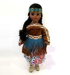 "Madame Alexander Pocahontas 14"" American Indian Princess Doll"