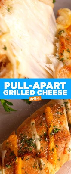 Pull-Apart Grilled Cheese