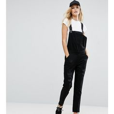 e53c607c1bfe Kubban Tall Distressed Dungarees ( 61) ❤ liked on Polyvore featuring  jumpsuits
