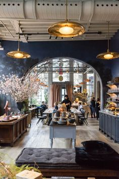 Our favorite French spots in NYC that feel like home away from home to this former Parisienne. Read on to see her favorite restaurants and shops. Restaurants In Nyc, French Restaurants, Commercial Design, Commercial Interiors, Cafe Design, House Design, Coffee Shop Design, Design Design, French Bistro