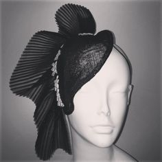 The Hat and the Little Black Dress 9th of June 2013 by Andrea Blohm #HatAcademy #millinery
