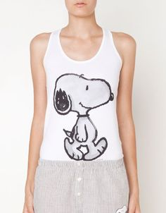 Snoopy top - T-shirts - Oysho & Friends - United Kingdom