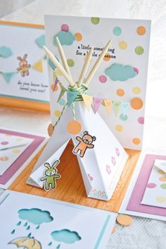 Adorable Explosion Box for the Little One Boy Cards, New Baby Cards, Diy Paper, Paper Crafts, Scrapbook Box, Style Scrapbook, Exploding Box Card, Pop Up Box Cards, Baby Box