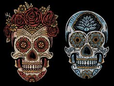 Saint Añejo - Sugar Skulls