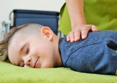 Pioneering massage therapy for autistic children