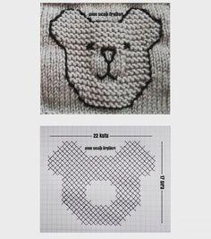 Knitting Patterns Uk, Knitting Stitches, Diy Crafts Knitting, Knitting Projects, Embroidery Floss Storage, Knitting Increase, Knit Baby Sweaters, Knit Basket, Crochet Bunny