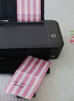 Cadeau zakjes printen