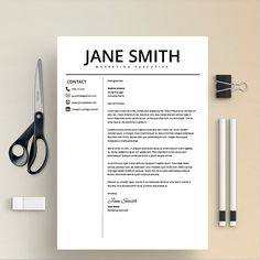 Professional Resume Template Ms Word Compatible Best Cv  Tips