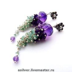 Earrings. Handmade. By Silver-Ann
