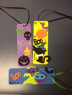 Our Mission, TX #team is getting ready for #Halloween by making these fun bookmarks!   #smile #dentistry #crafts #spooky #fun #reading #oralcare #Texas #Mission