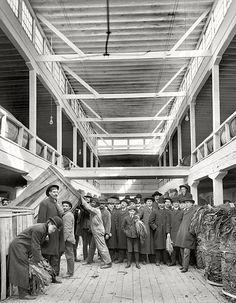 Tobacco Seller's Market... Louisville, Kentucky 1906