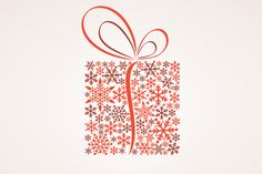 Christmas Gift Box Vector Illustration