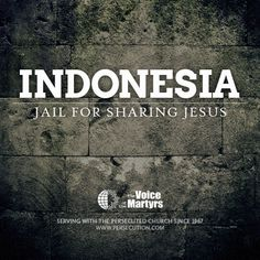 Ribur was beaten and locked in jail for 60 days because she talked about Jesus. #indonesia