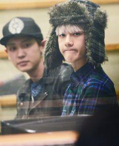 Chanyeol and Sehun😘😘 Chanyeol Baekhyun, Park Chanyeol, Exo Ot12, Chanbaek, Rapper, Exo Korean, Kim Junmyeon, Kpop, Exo Members