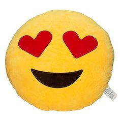 Material: Poly Propylene (PP) It's a Soft Emoji Smiley Emoticon Yellow Round Cushion Pillow Stuffed Plush Toy Doll. Features Material: Poly Propylene (PP) Diameter 11 inches Style: Cute Fun Soft Emoji Smiley Emoticon Cute Pillows, Soft Pillows, Decorative Throw Pillows, Funny Emoji, Cute Emoji, Tween Girl Gifts, Gifts For Girls, Tween Girls, Girls Camp