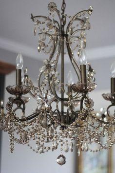 Chandelier, Ceiling Lights, Lighting, Celine, Master Bedroom, Home Decor, Master Suite, Candelabra, Decoration Home