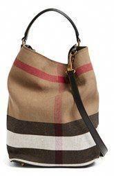Burberry Brit  Susanna - Medium  Bucket Bag  Burberryhandbags d3948b9405b91