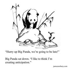 Big Panda, Little Panda, Bored Panda, Dragon Quotes, Tiny Dragon, Dragon Comic, Zen Painting, Writing Challenge, Red Books