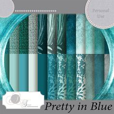 """Kit """"Pretty in Blue"""" by Angélique's Scraps She has a Summersale with 50% discount at the next 2 stores untill 13/08.  http://www.digidesignresort.com/shop/designers-angeliques-scraps-c-1_464  http://scrapfromfrance.fr/shop/index.php?main_page=index&cPath=88_246  There is every week €2 and €3 day at Thursday at Paradisescrap. You will find lots of products for €2 and €3, take also a look overthere.  http://www.digi-boutik.com/boutique/index.php?main_page=index&manufacturers_id=134"""