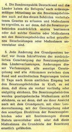 Besatzungsrecht Deutschland