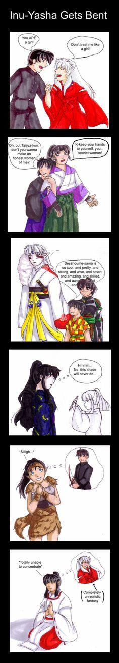 Inuyasha: provate a fare una cosa del genere e vi distruggo