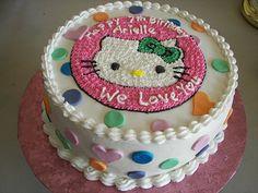 Dawn's cake idea