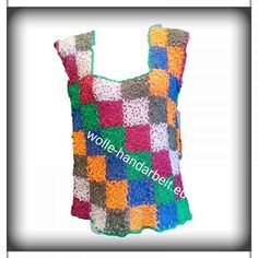 Bunter Top Tops, Colorful Scarves, Things To Do, Products, Handarbeit, Colors, Cotton