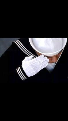 File:US Navy An Honor Guard member renders a salute during a burial at sea ceremony aboard USS Ronald Reagan (CVN Go Navy, Navy Mom, Navy Military, Military Wife, Uss Ronald Reagan, My Champion, Honor Guard, Navy Life, Navy Sailor