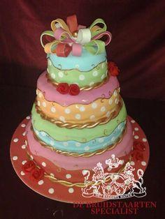 Gekleurde taarten