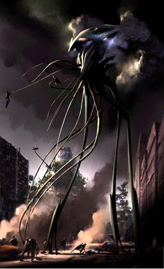 War of the Worlds (Directed by Steven Spielberg) concept art by Ryan Church