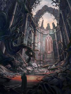 """""""King of Ruins""""  """"Time will crumble even the mightiest empire..."""""""