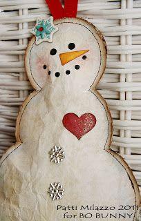 Bo Bunny: Handmade Christmas Ornaments