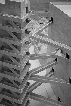 'Palazzo delle Esposizioni'. The Fábrica da Pompéia, São Paulo Cultural Center by Lina Bo Bardi, 1986. #poet #architecture #Bo Bardi