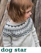 Dog Star Sweater by Tin Can Knits Knitting Patterns Boys, Star Patterns, The Dog Star, Hobby Tools, Dk Weight Yarn, Fair Isle Knitting, Bright Stars, Stockinette, Knits