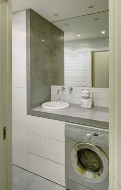 Interior de baño desde pasillo