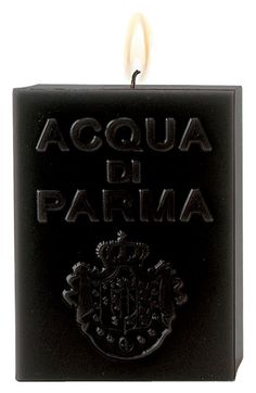 Acqua+di+Parma+'Black+Amber'+Cube+Candle+available+at+#Nordstrom