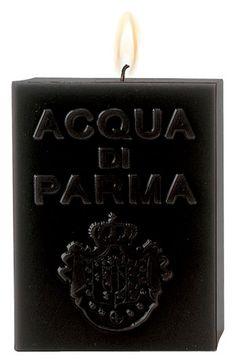 Acqua di Parma 'Black Amber' Cube Candle | Nordstrom