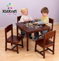 Farmhouse Table and 4 Chair - Pecan (21451)