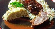 """Mennyei Sült oldalas karfiolos rizzsel, sajtos karfiol""""lepénnyel"""" recept! Egy isteni sült, szénhidrát nélküli körettel."""