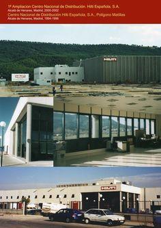 Centro Nacional de Distribución HILTI ESPAÑOLA, 1994-1996 y Ampliación 2000-2002