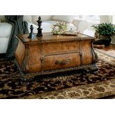 Found it at Wayfair - Heritage Bombe Trunk Coffee Table