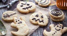Ecco i biscotti vegani perfetti per Halloween! Non lasciateveli sfuggire da preparare con i vostri bambini o per gli amici!