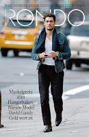 David Gandy talks to Der Standard/Rondo Austria Magazine (August 2013) ~ David James Gandy