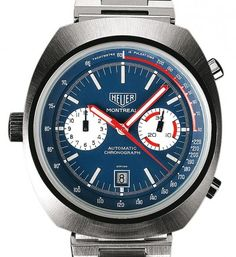 TAG Heuer | Montreal | Steel | Watch database watchtime.com Wow!