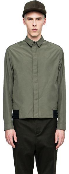 PLAC - Zip Up Shirt #shirts
