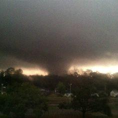 Hattiesburg, MS tornado Feb. 2013